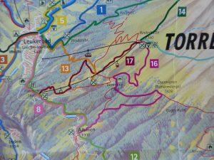 Karte Torrentalp Wanderung mit Hund, petcenter.ch Blog