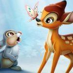 Bambi und Klopfer aus dem Film Bambi von Disney